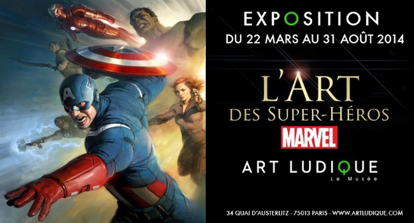 [Critique Expo] L'art des super-héros Marvel