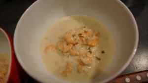 [Vie de Gourmand] Soupe de crevettes au lait de coco
