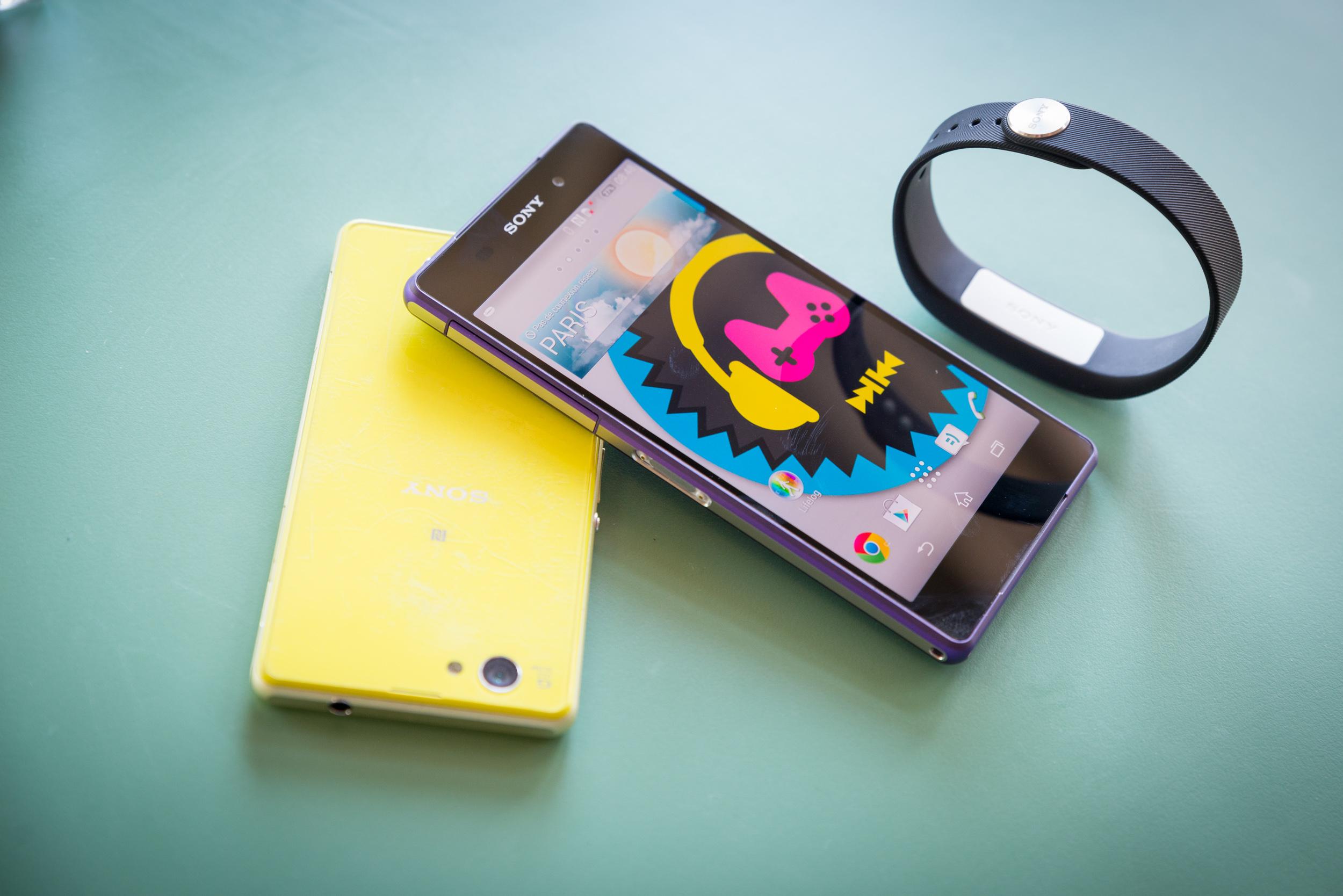 [Preview Vidéo] Xperia Z2 et le Smartband, le duo connecté !