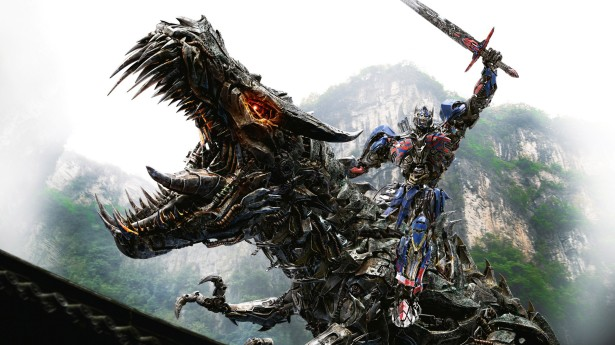 Grimlock-Optimus-Prime-In-Transformers-4-Age-of-Extinction-Wallpaper-2560x1440
