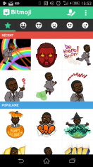 [Vie de geek] BitStrips lance une application de stickers !