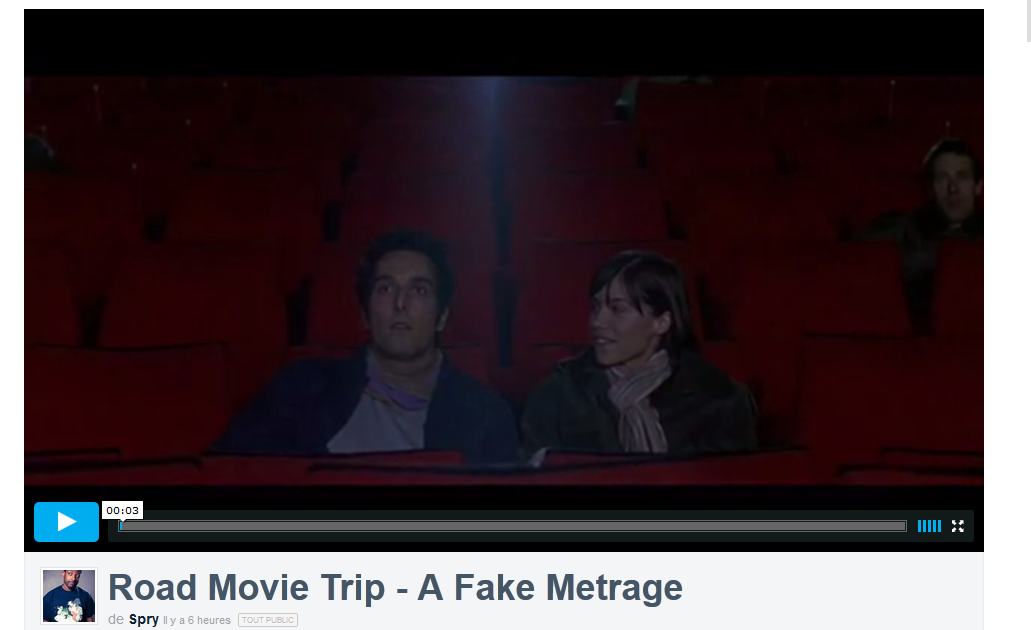 [Coup de Coeur] Road Movie Trip – A Fake Metrage