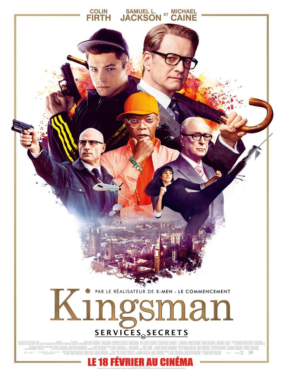 [Critique Ciné] Kingsman: Services Secrets