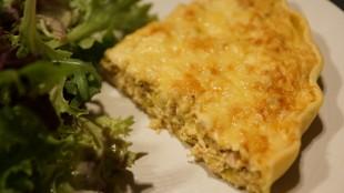 [Vie de Gourmand] Tarte thon, poireaux, ricotta