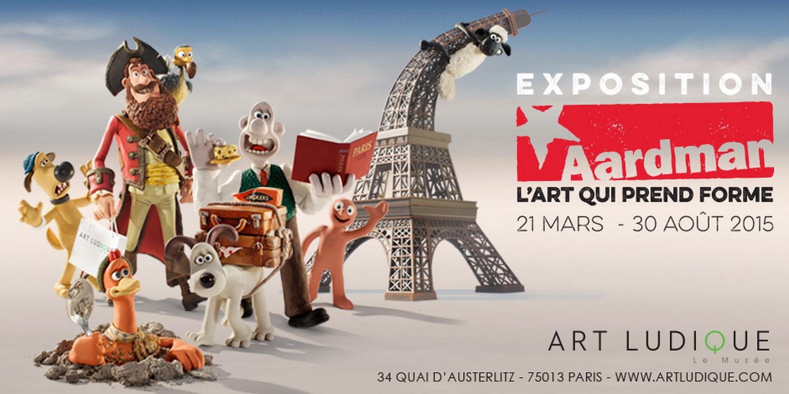 [Critique Expo] Aardman, l'art qui prend forme