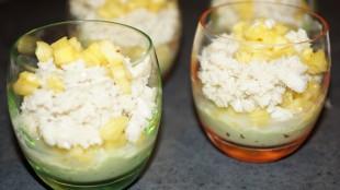 [Vie de Gourmand] Verrine crabe ananas avocat