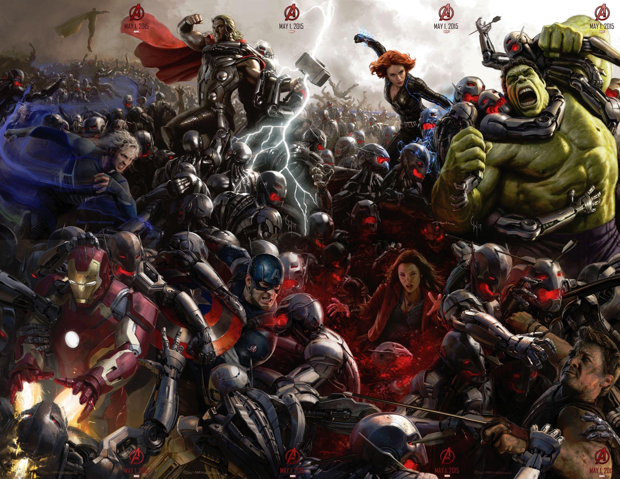 [Critique ciné] Avengers : L'Ère d'Ultron — Une suite sans grosse surprise