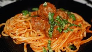 [Vie de Gourmand] Linguine aux boulettes à la sauce tomate