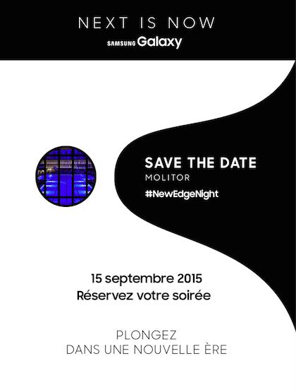 [Concours] Viens fêter le nouveau S6Edge+  #NewEdgeNight