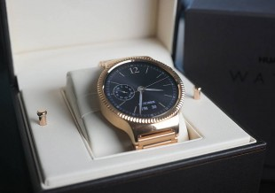 [Montre Connectée] La huawei watch, le bijou connecté
