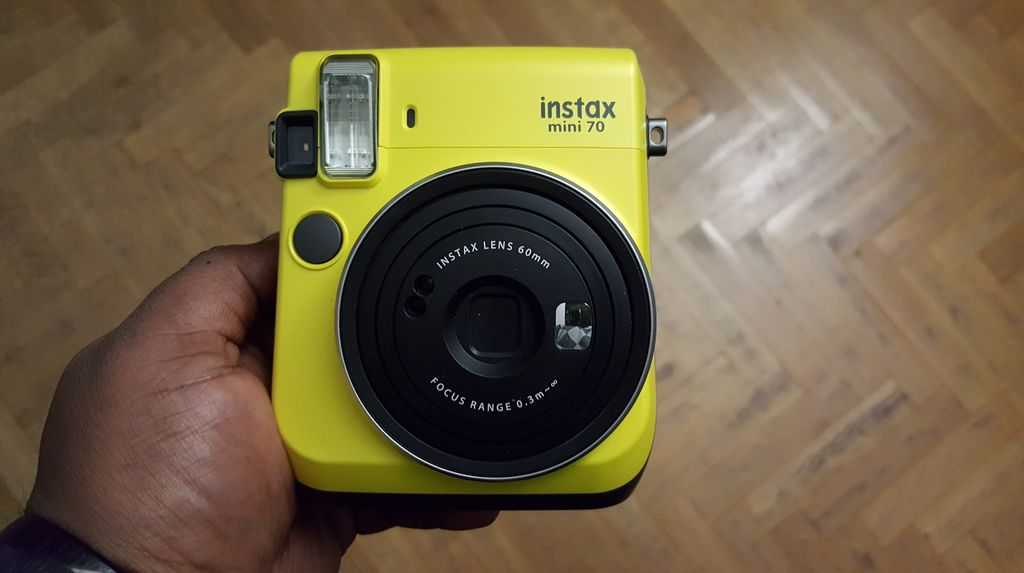 [Appareil Photo] Fujifilm Instax Mini 70 — La photo sociale mais en vrai
