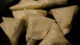 [Vie de Gourmand] Samossas épinards, poulet et feta