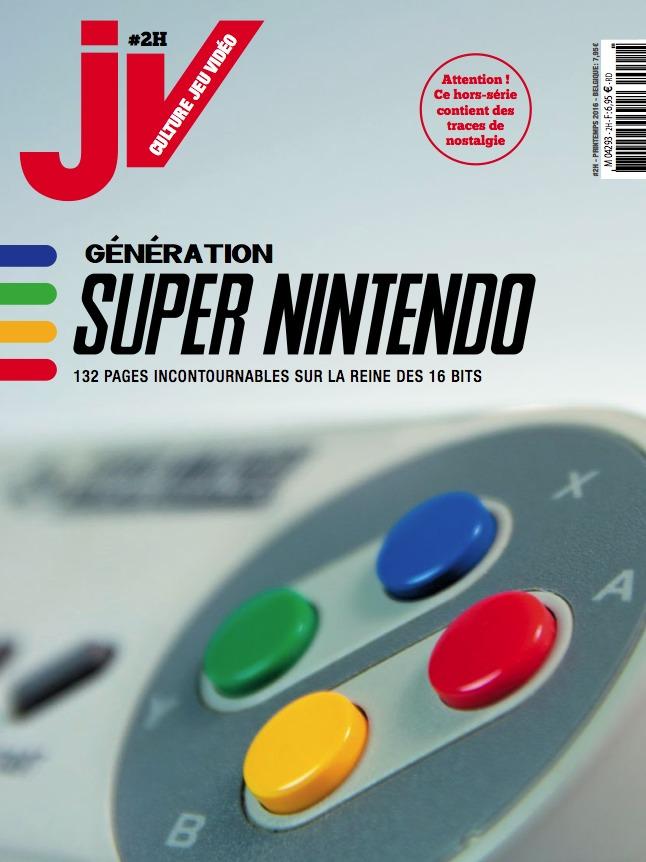 [Magazine] JV #2H — Génération Super Nintendo