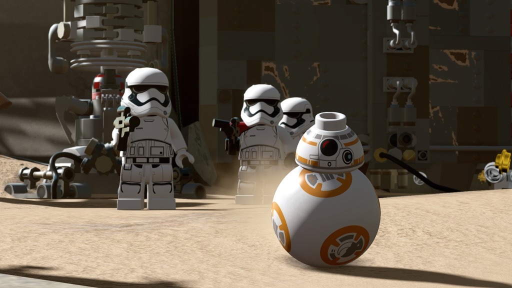 [Preview] Lego Star Wars : Le réveil de la force (fan!)