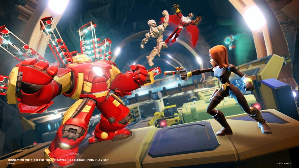 [Preview] Disney Infinity 3.0 : Marvel Battlegrounds