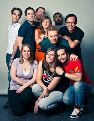 L'équipe du BarGaming au grand complet