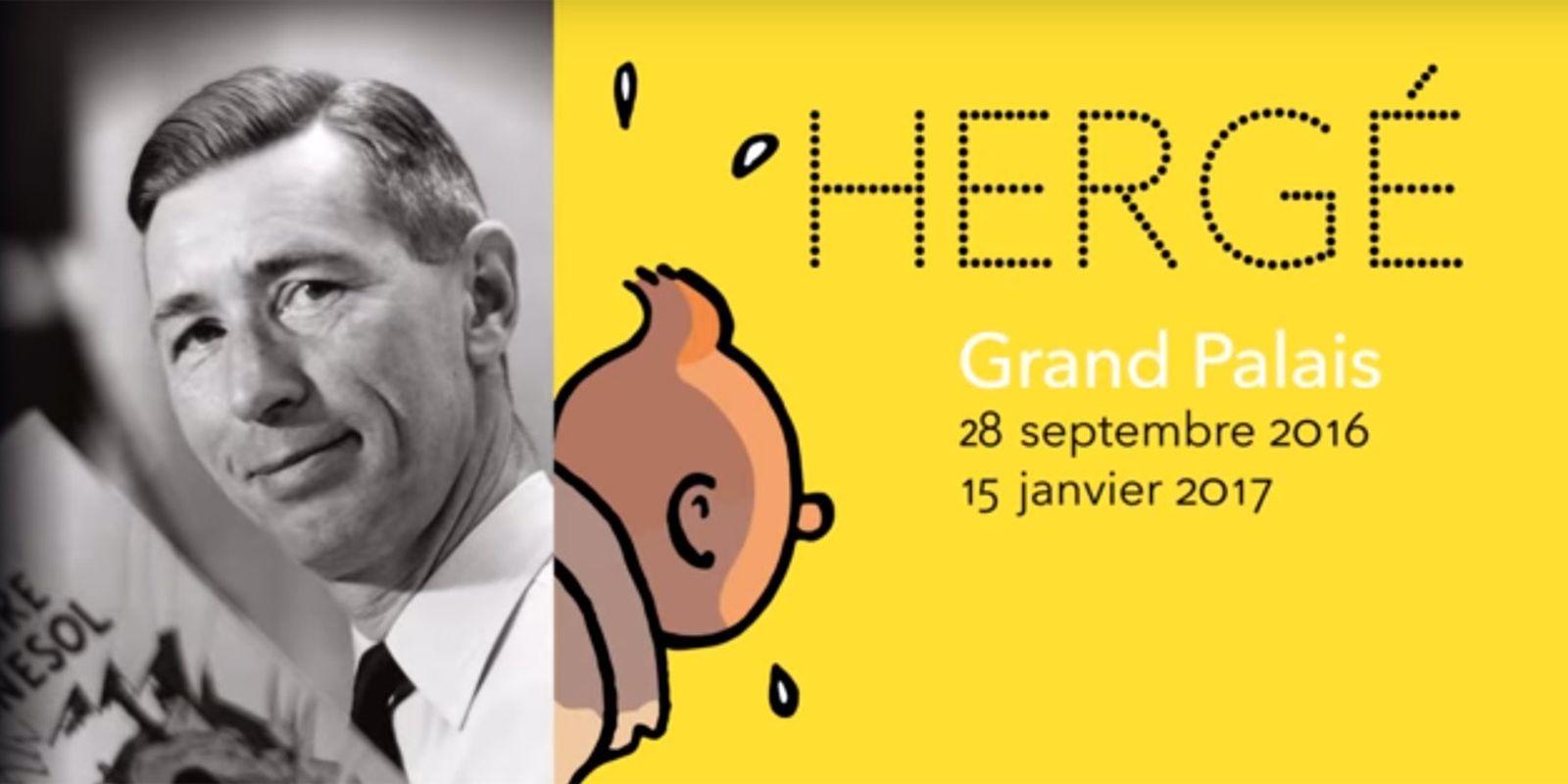 [Expo] Hergé, la BD à l'honneur au Grand Palais