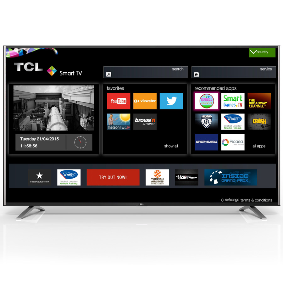 avis t l tcl cityline s79 la jolie t l vision ultra hd 4k accessible. Black Bedroom Furniture Sets. Home Design Ideas