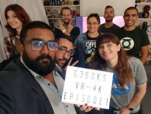 [G360KS] Pilote de la première émission de culture geek en 4k et 360