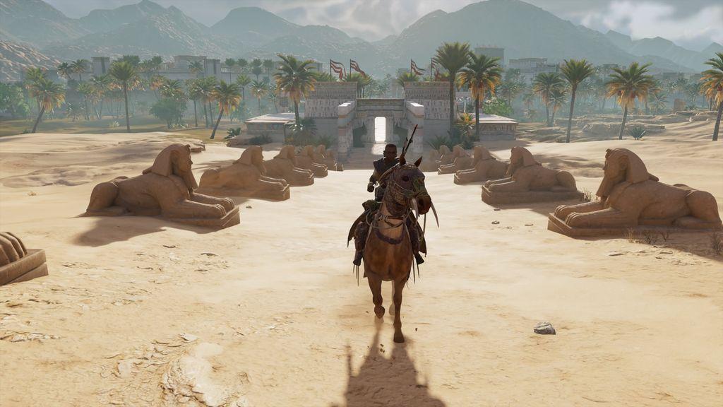 [Vie de Gamer] SPOILER et PHOTOS sur Assassin's Creed Origins, l'histoire d'un deuil