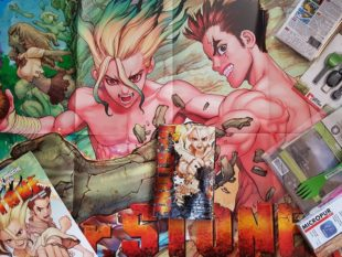 [Vie de Loot] Unboxing Kit press de survie du manga Dr Stone !