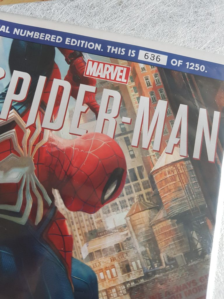 [Vie de Gamer] Unboxing Kit Press de Spiderman