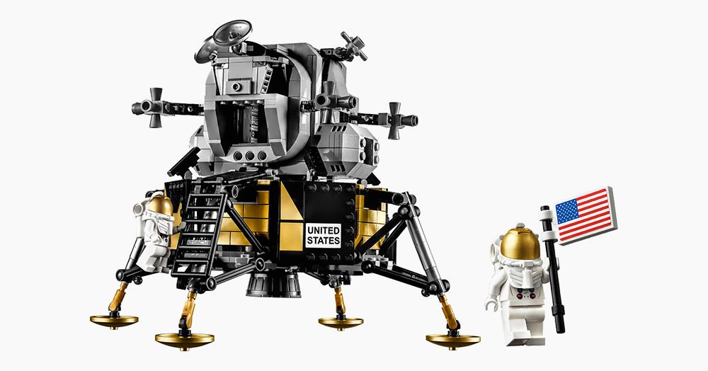 [Vie de Toys] Le NASA Apollo 11 Lunar Lander en LEGO et en vidéo !