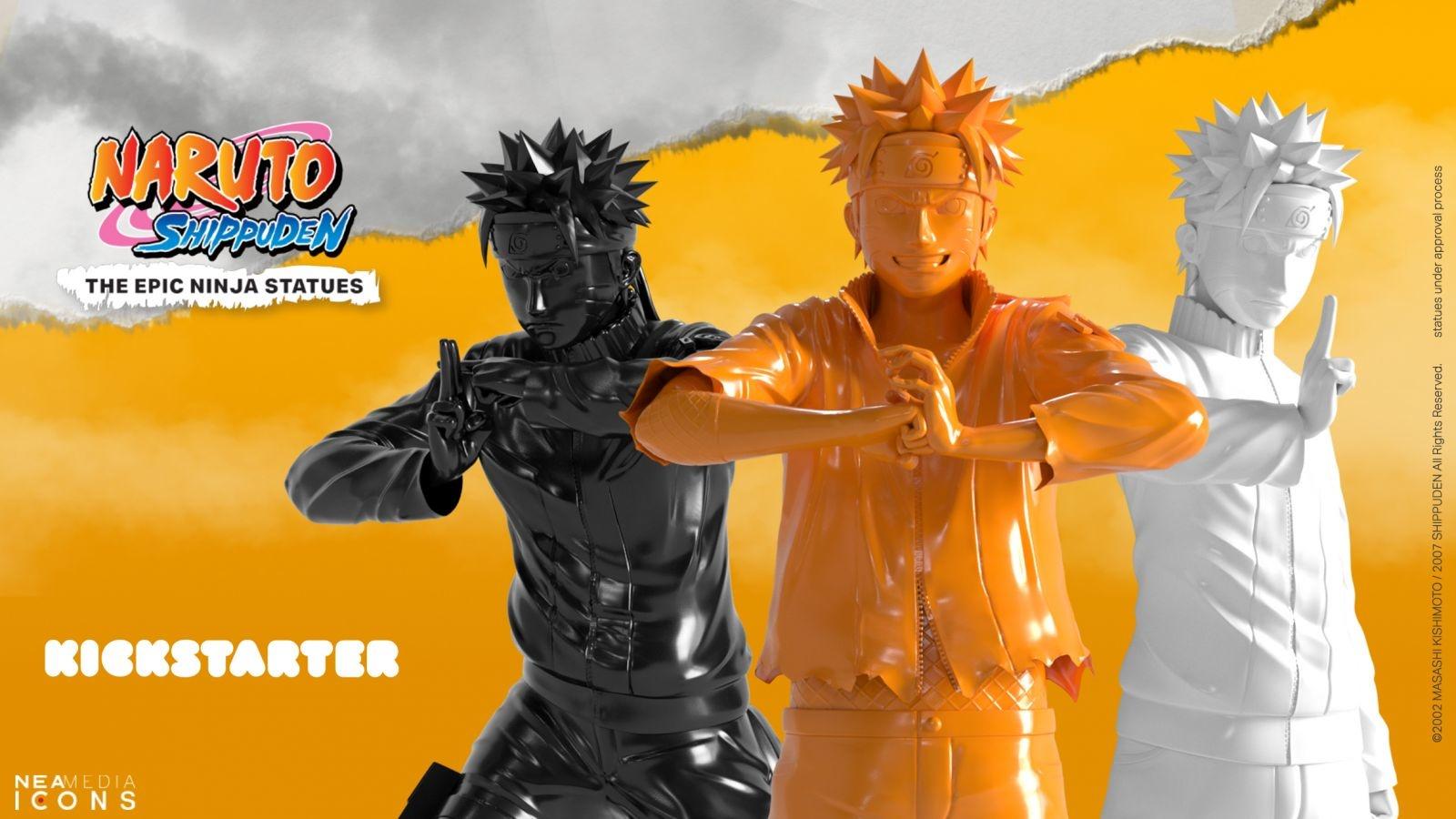 [Vie de Manga] Naruto , la statuette sur Kickstarter