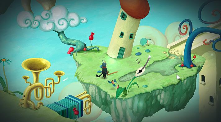 [Vie de Gamer] Figment le petit jeu d'aventure au sound-design fabuleux.
