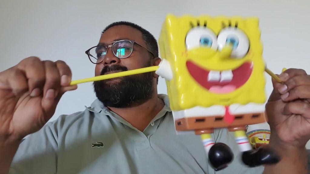 [vie de toys] Unboxing BOB L'EPONGE