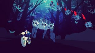 [Vie de Gamer] Un moment de poésie avec Sayonara Wild Hearts, un album-jeu.