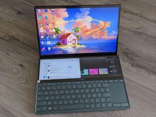 [Vie de PC] L'Asus ZenBook Duo, le portable versatile du télétravail au twitch!