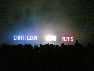 Feux d'artifice Chatillon