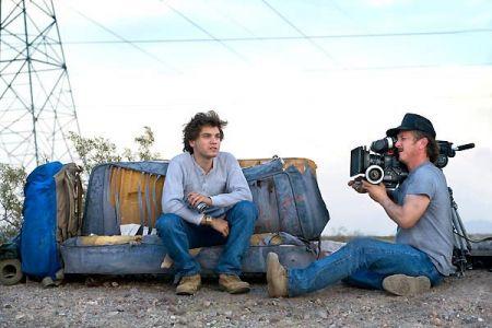 Emile Hirsch filmé par Sean Penn dans Into the Wild