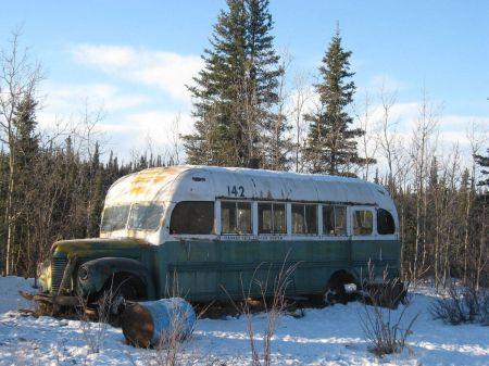 The Magic Bus, endroit où Alexander Supertramp va vivre plusieurs mois en Alaska