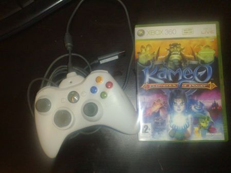 [Arrivage] Manette Xbox 360 Battery Pack et Kameo