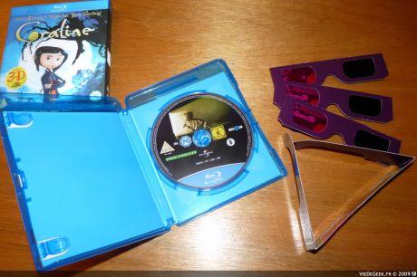 Blu-ray Coraline 2D et 3D