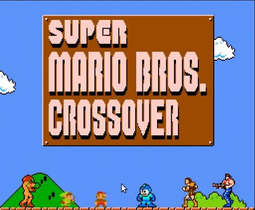 [Jeu Flash] Super Mario Cross-Over : Link, Megaman, Simon, etc !
