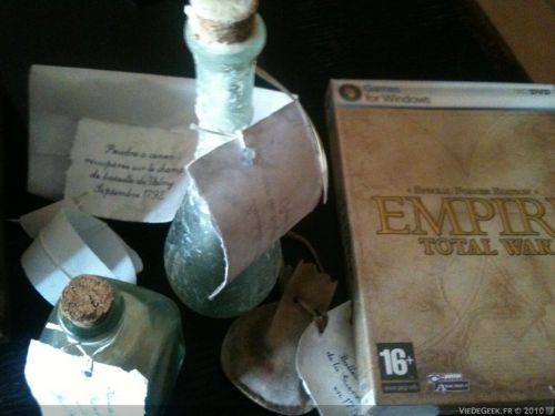 [Concours #6 VDG/J-P.N.] Le kit press Empire Total War !