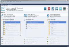 Menu général et configuration des bases de données